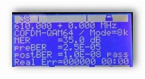 Jakość sygnału DVBT