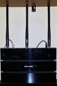 Router - przekroczony poziom promieniowania.